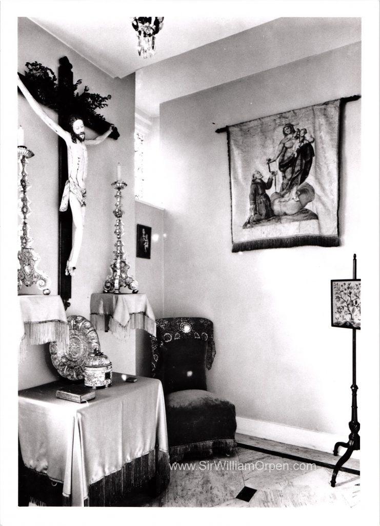 William Orpen's Chapel Room, Bolton Gardens, Chelsea