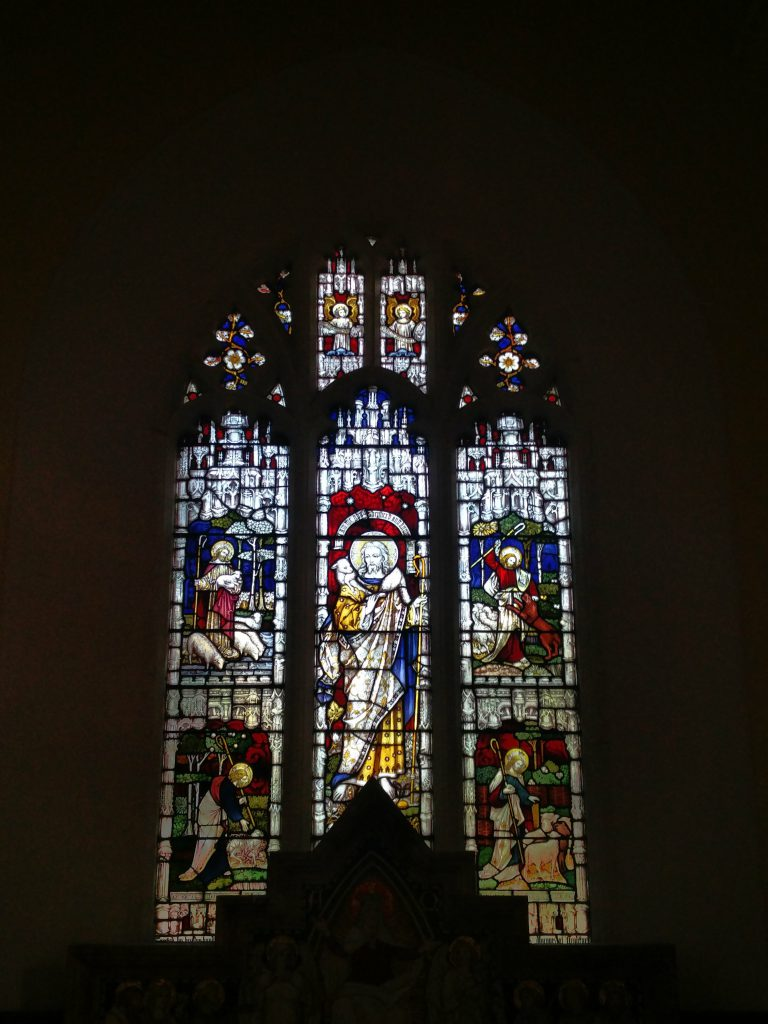 Anglican Church Window, Virginia, Co.Cavan